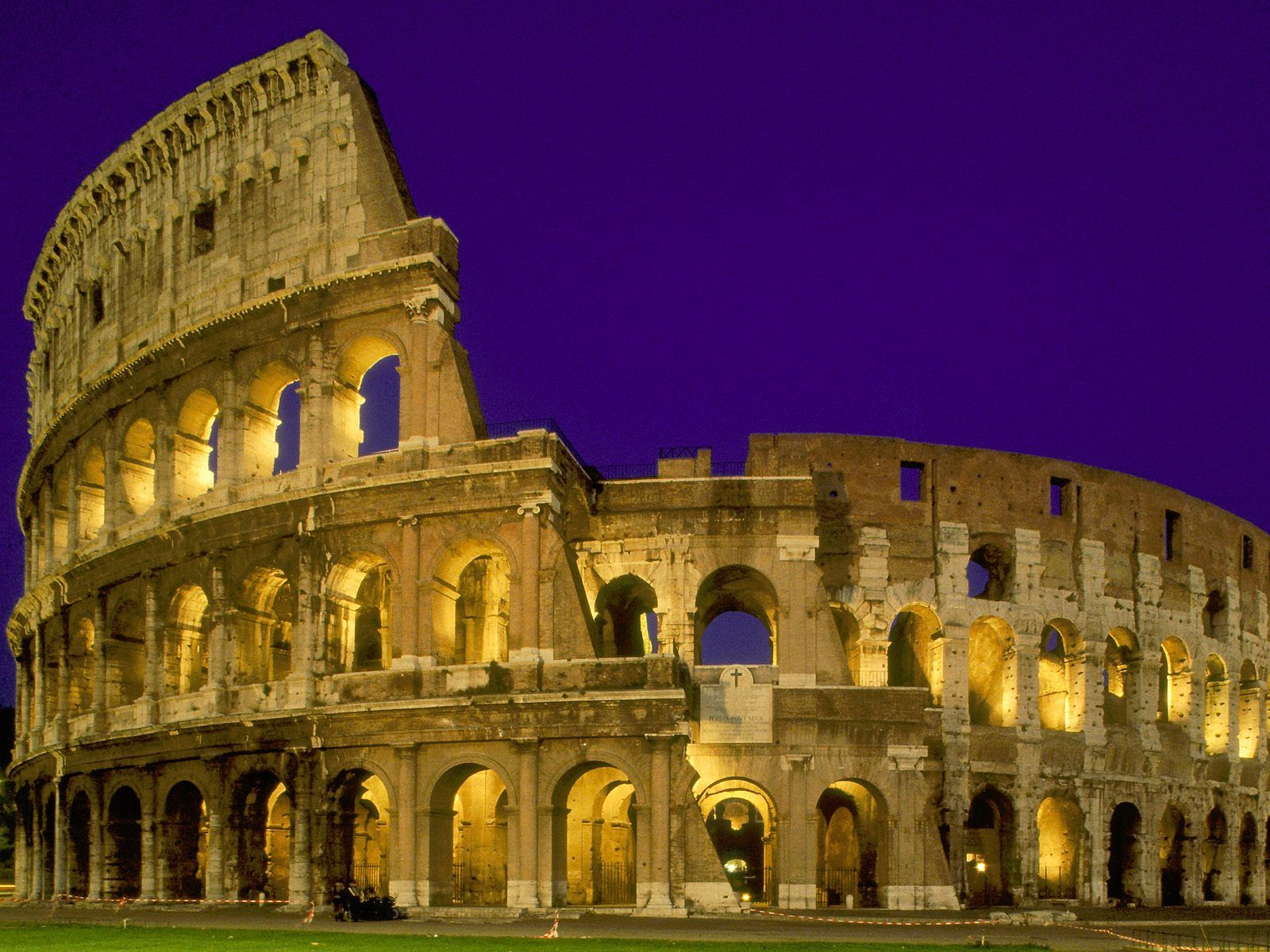 Estrcuturas Coliseo Romano Reseña Historica
