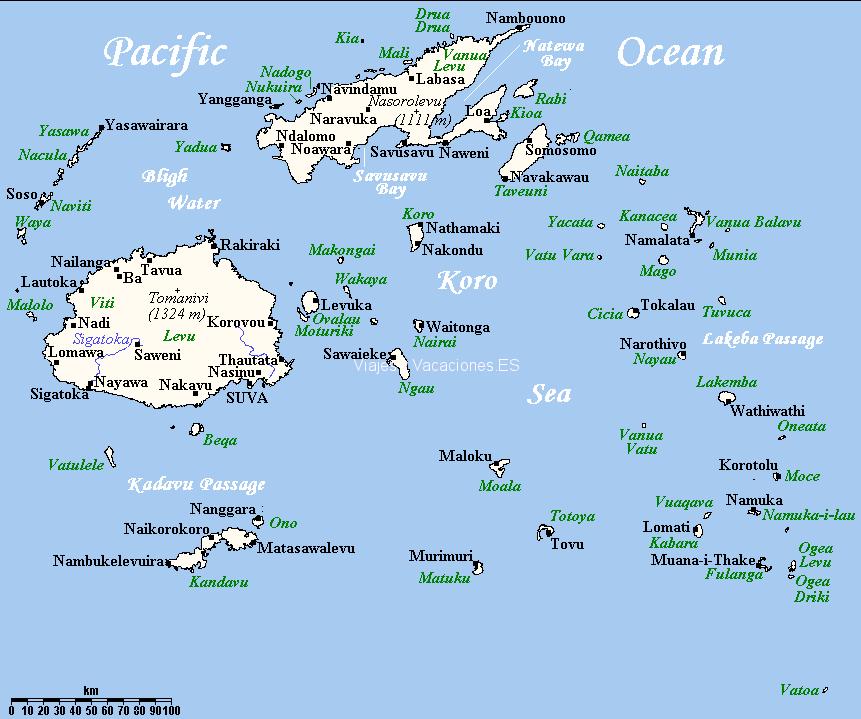 Qu ver en islas fiji 10 islas imprescindibles de pelcula mapa de fiji gumiabroncs Images