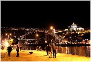 Visitando las bodegas de Oporto