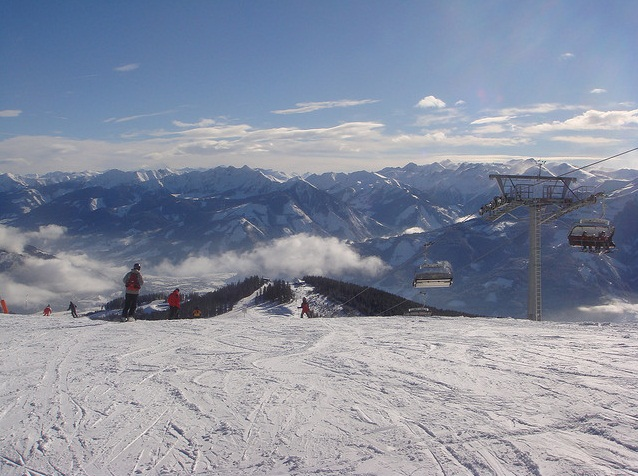 Estaciones de esquí en Austria