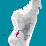 mapa Makay