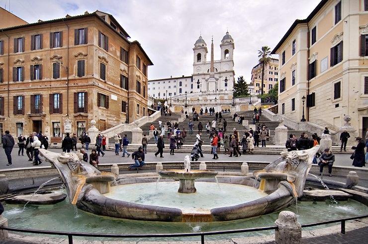 Escaleras Roma