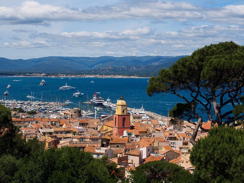 Saint Tropez en la Costa Azul