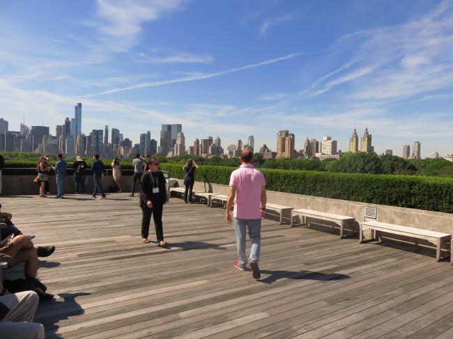 Vistas desde la terraza del Metropolitan