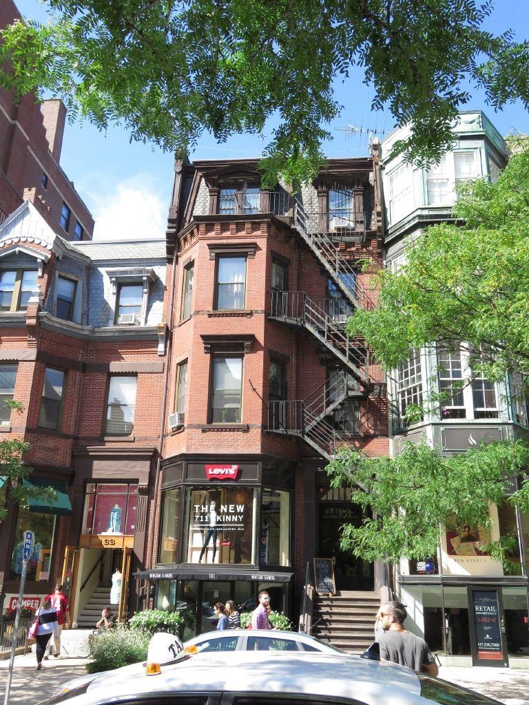 Tienda en Newbury (Boston)