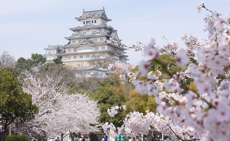 El palacio de Himeji