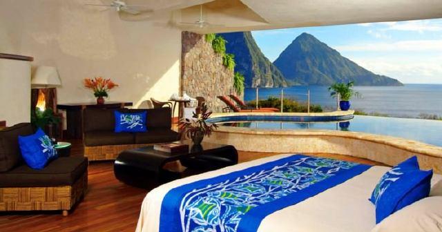 Resorts en Santa Lucia