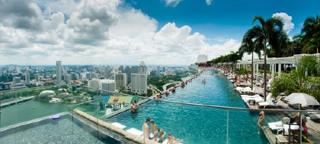 marina bay sands eintritt pool