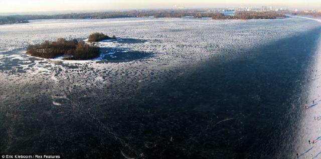 Lagos congelados del mundo