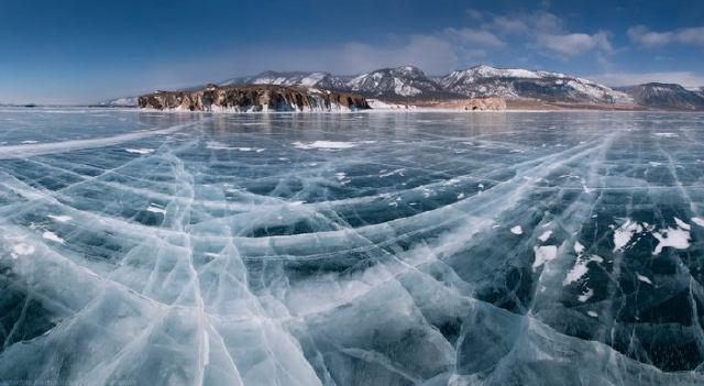 Lagos helados de Rusiia
