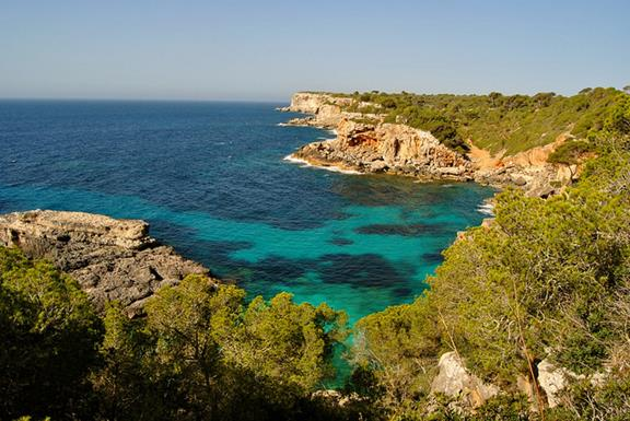 Top calas del mediterráneo