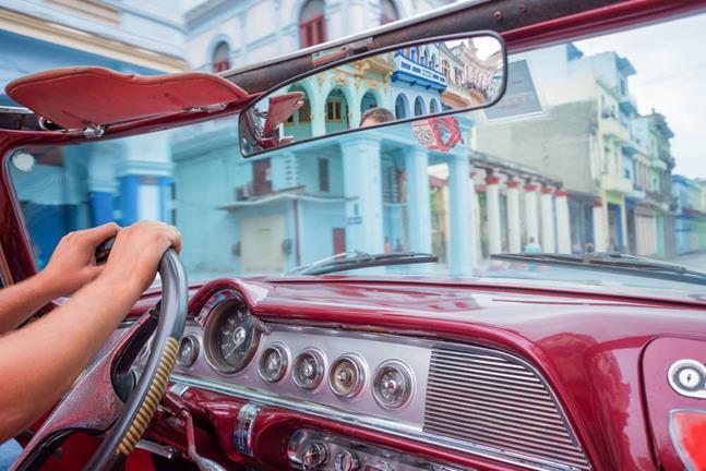 Taxi en La Habana
