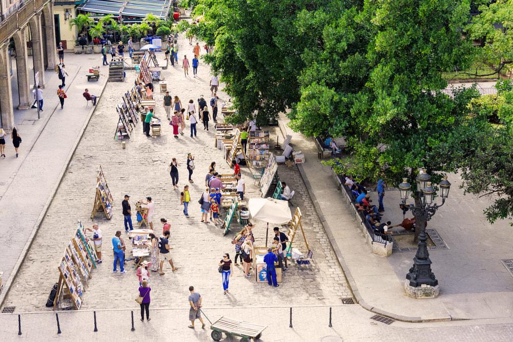 Mercado de Libros de la Plaza de Armas