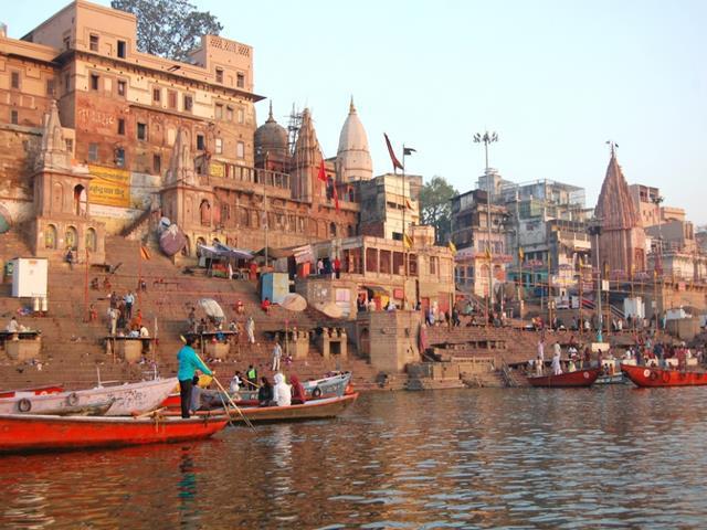 Ganges en Varanasi