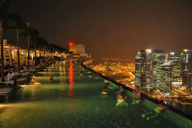 Marina Bay Sands en Singapur
