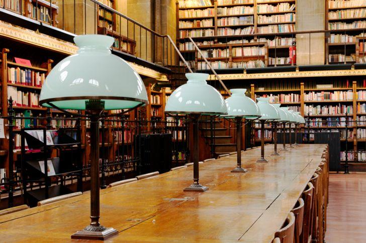 Biblioteca Sainte-Geneviève, Francia