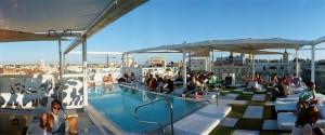 hoteles piscina madrid vistas