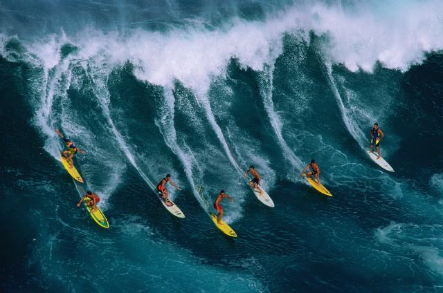 Surf en Hawaii